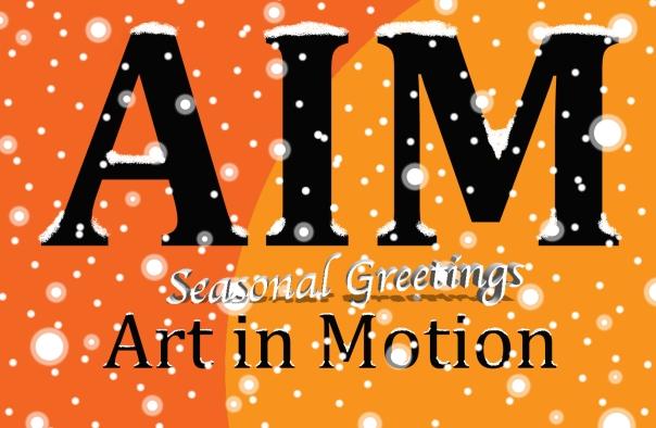 AIM christmas logo